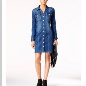 Inc International Concepts Denim Dress Sz.14